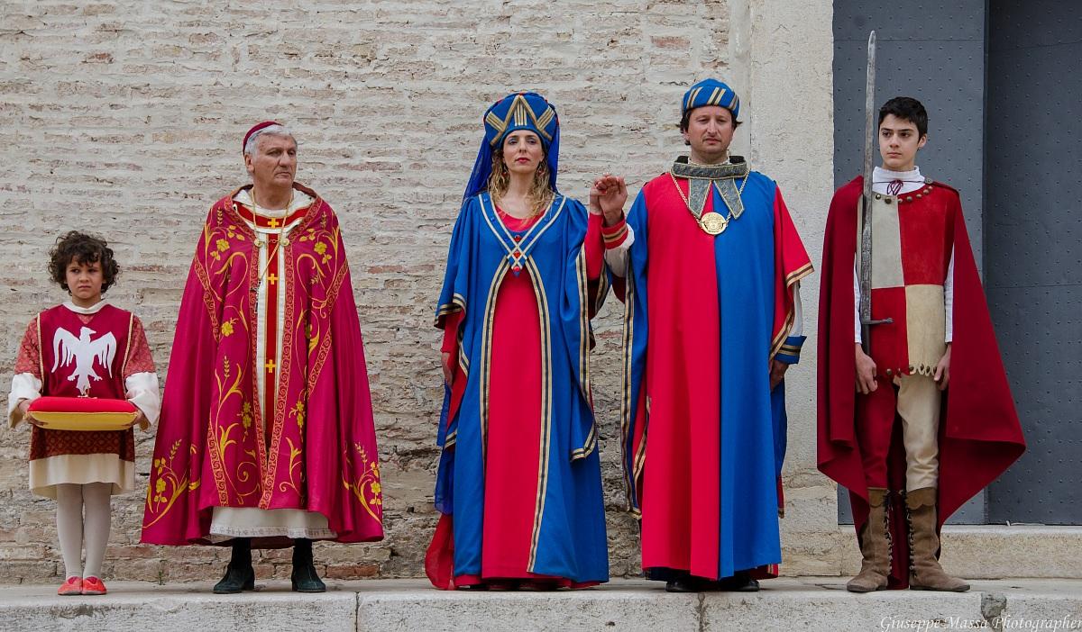 Ceremony for the reception of refugees Fiorentino...