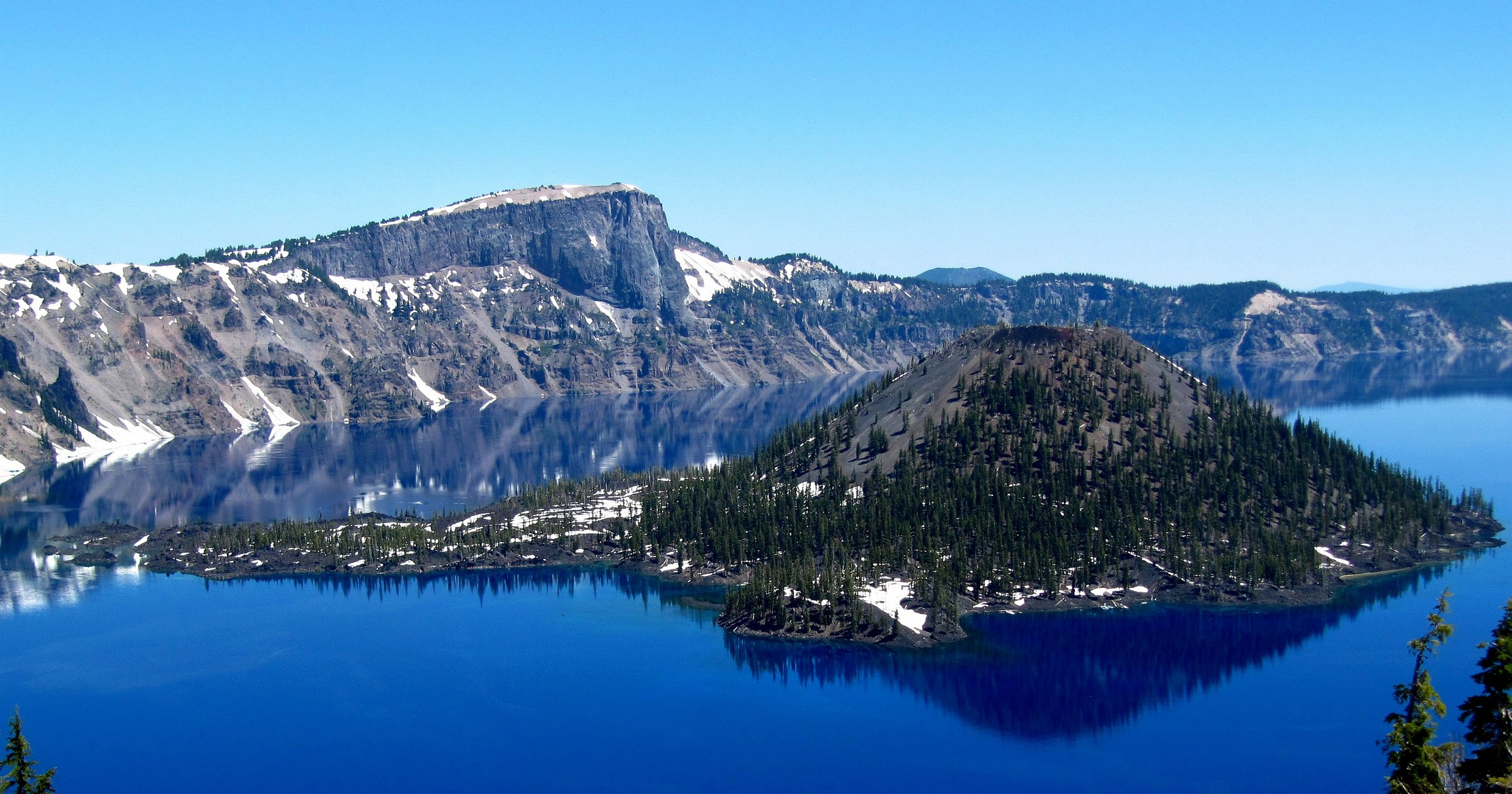 Wizard Island, Crater Lake, OR...