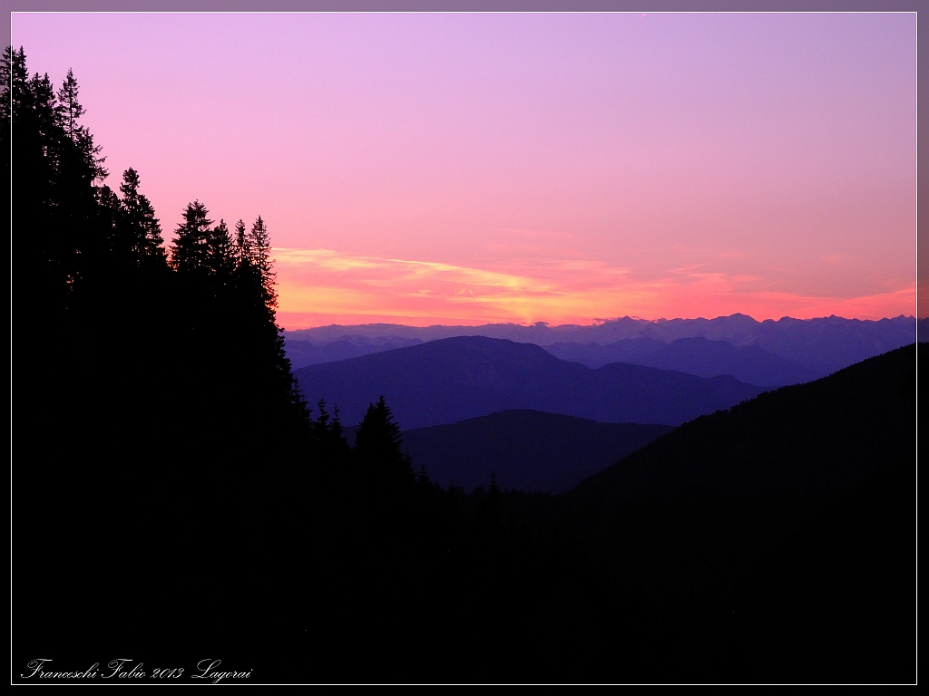 Sunset!...