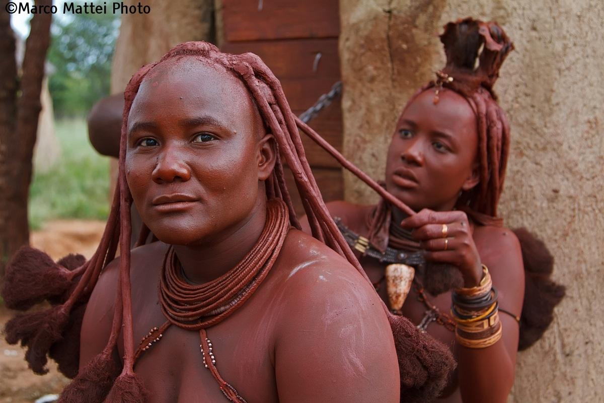 Accommodation hair (Northern Namibia Himba Village)...