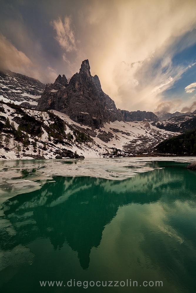 Lago Sorapiss e Dito di Dio...