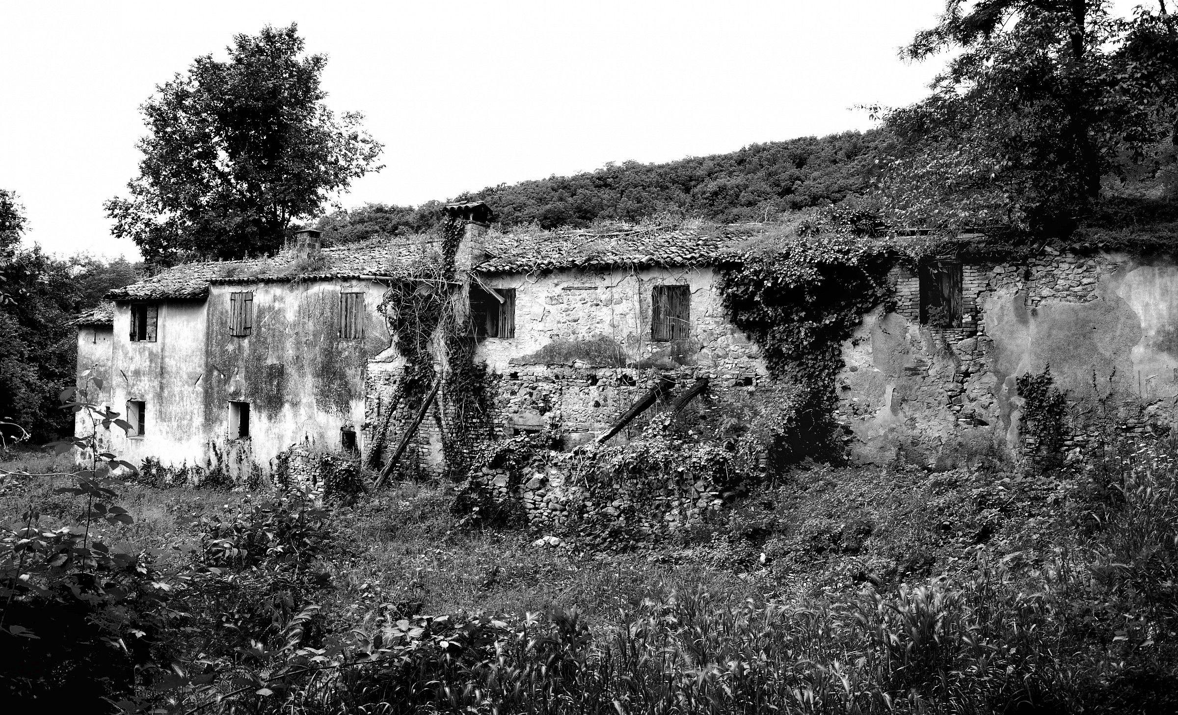 Euganean Hills - Ruins B / W...