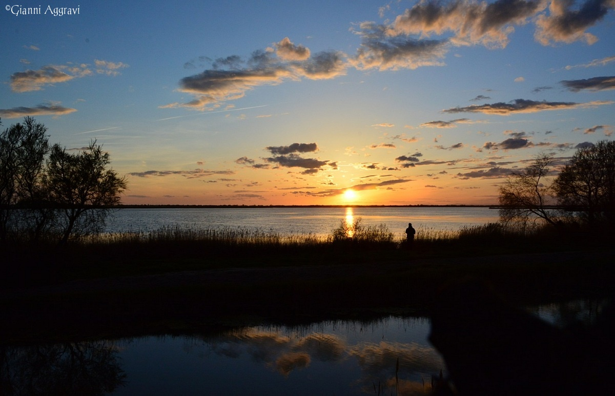 tramonto in Camargue...