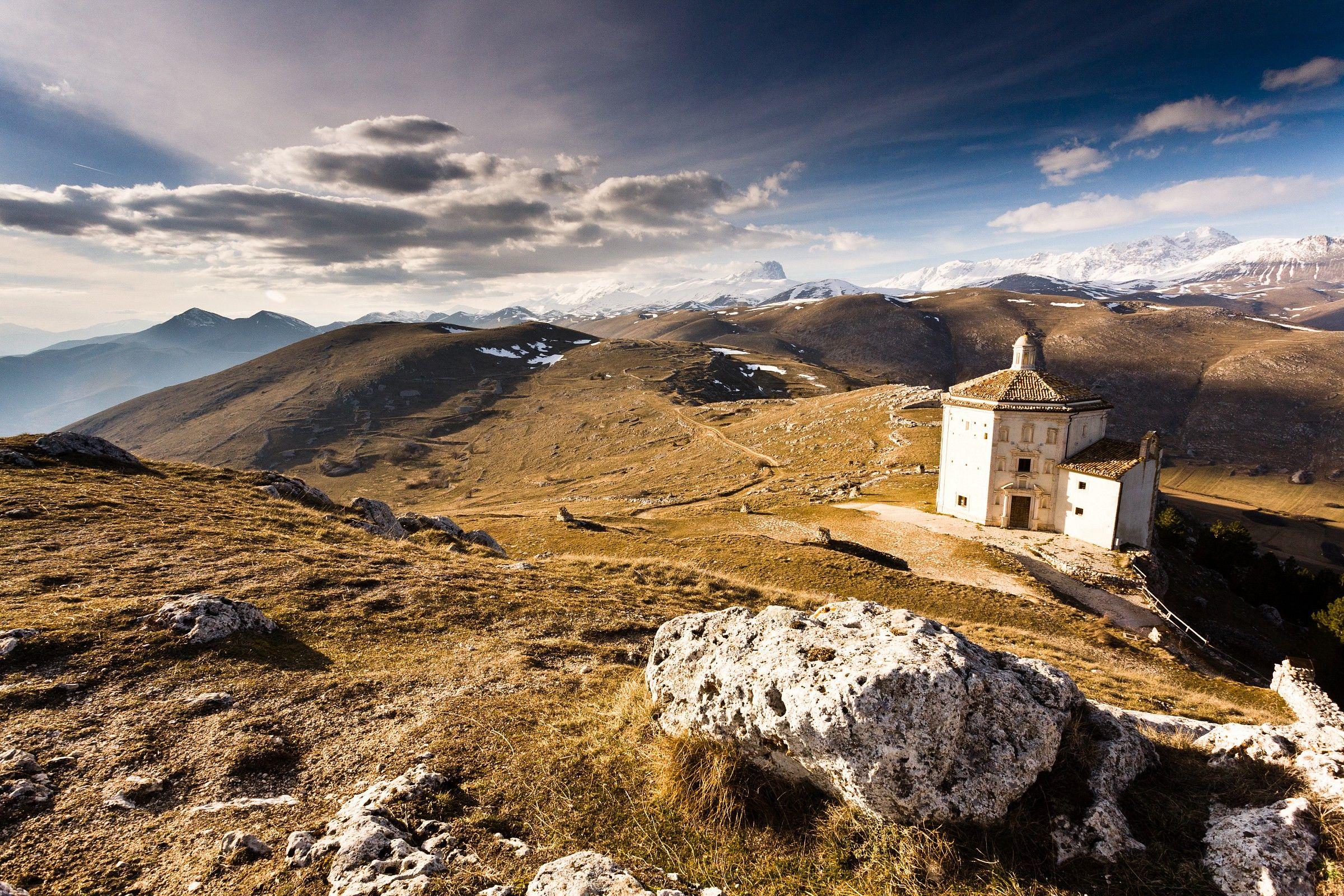 Sanctuary of the Rock of Calascio...