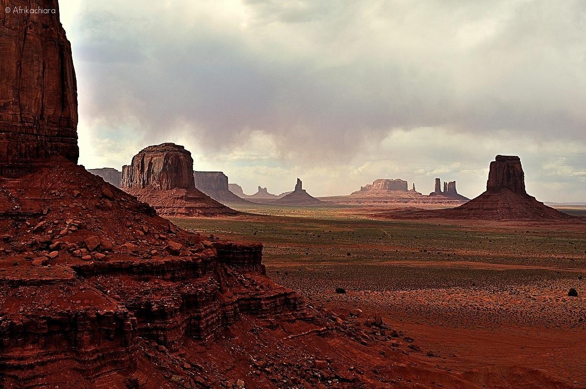 Monument Valley Navajo Tribal Park Utah...