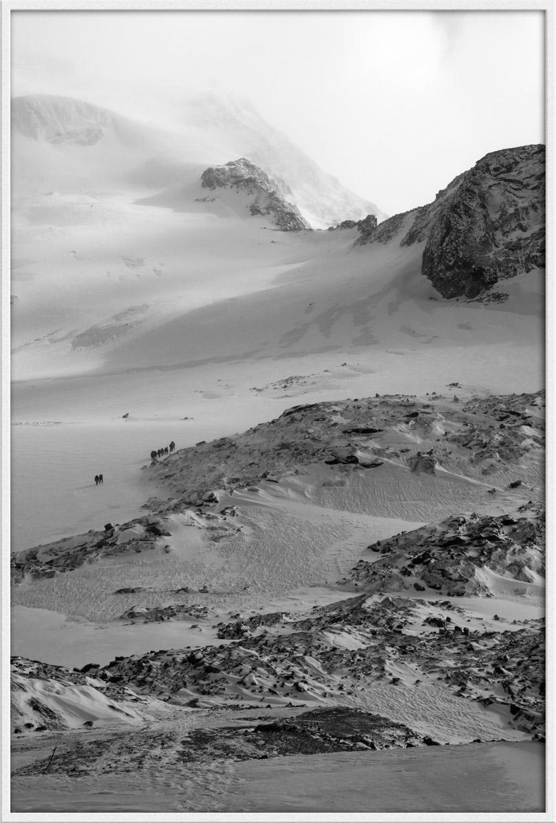 Monte Rosa, ghiacciaio di Indren...
