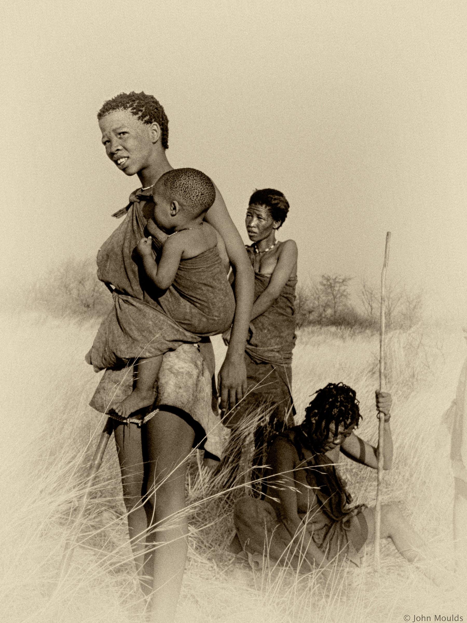 Bushman of the kalahari......