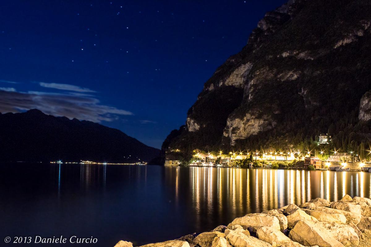 Riva del Garda at night...