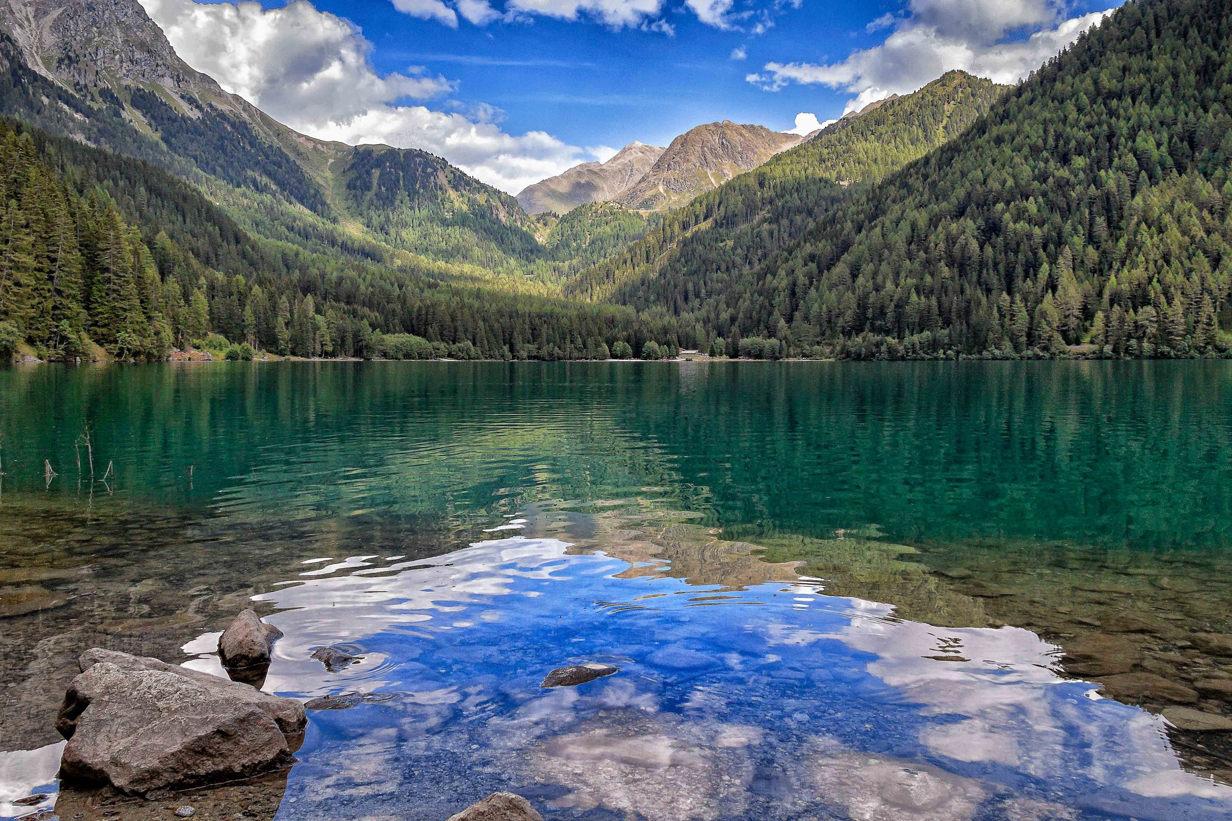 Lake Anterselva...