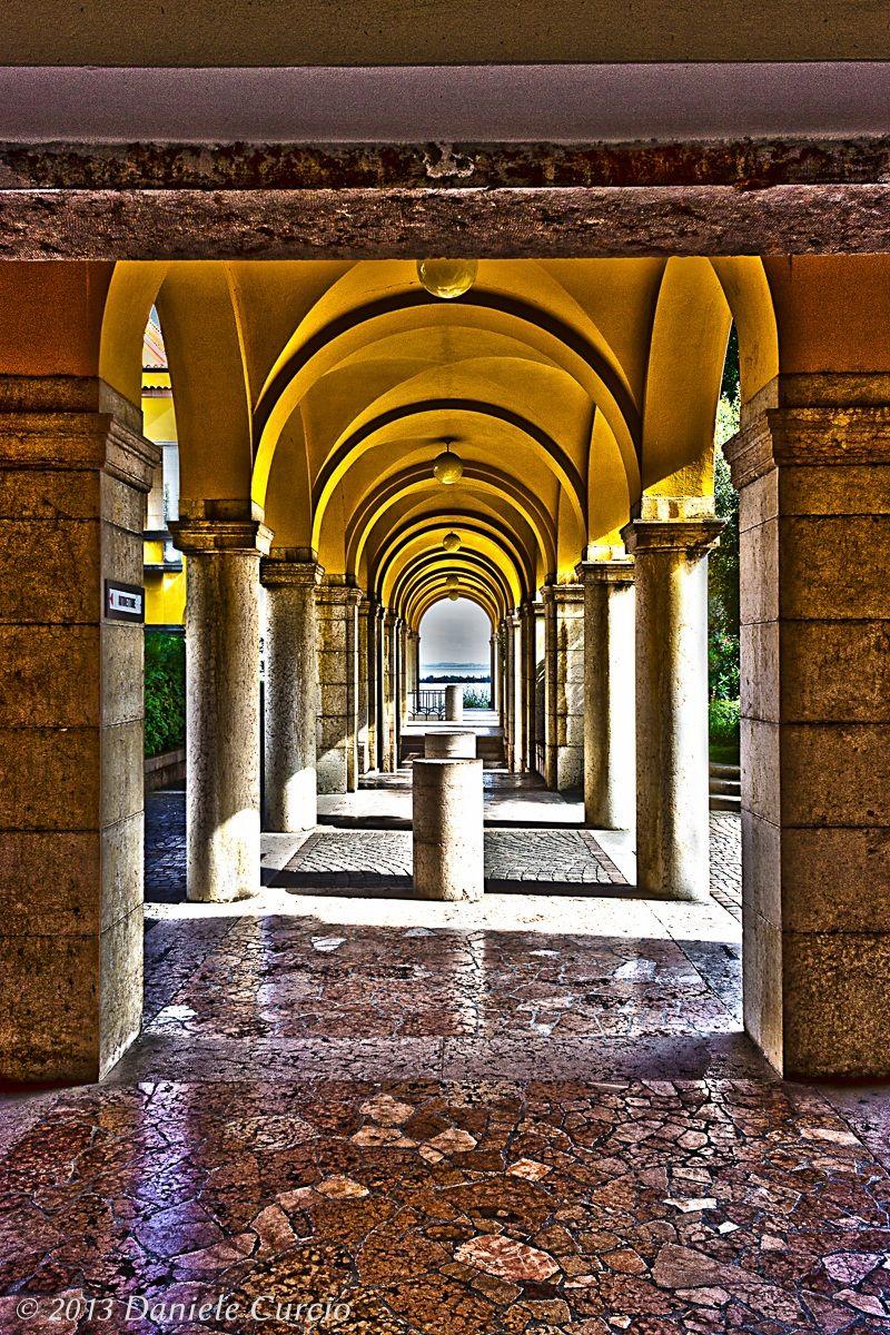 Glimpse of Vittoriale of D'Annunzio...