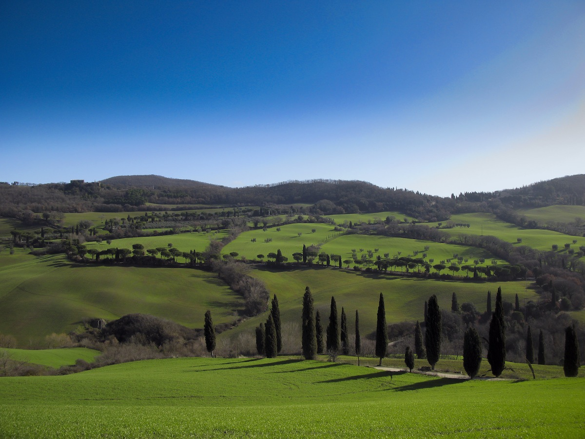 Green Val d'Orcia...