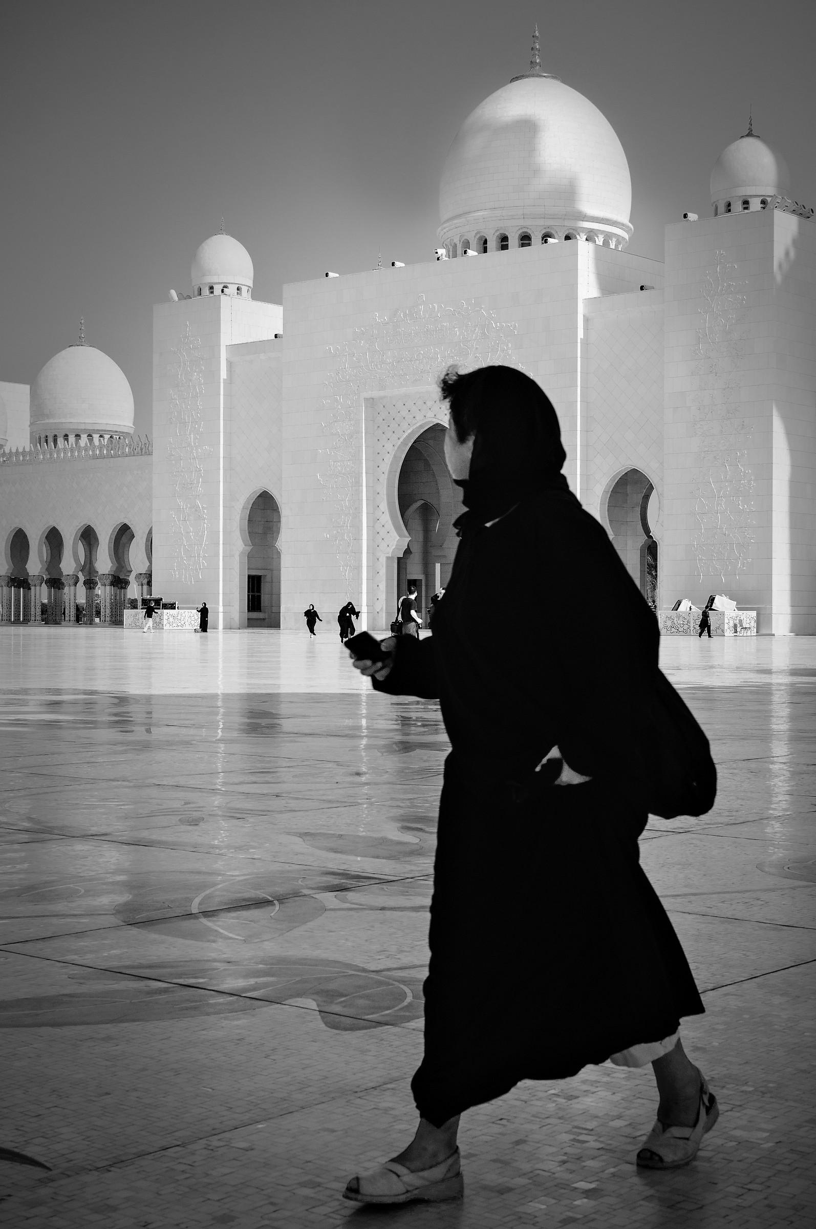 Donna alla Moschea...