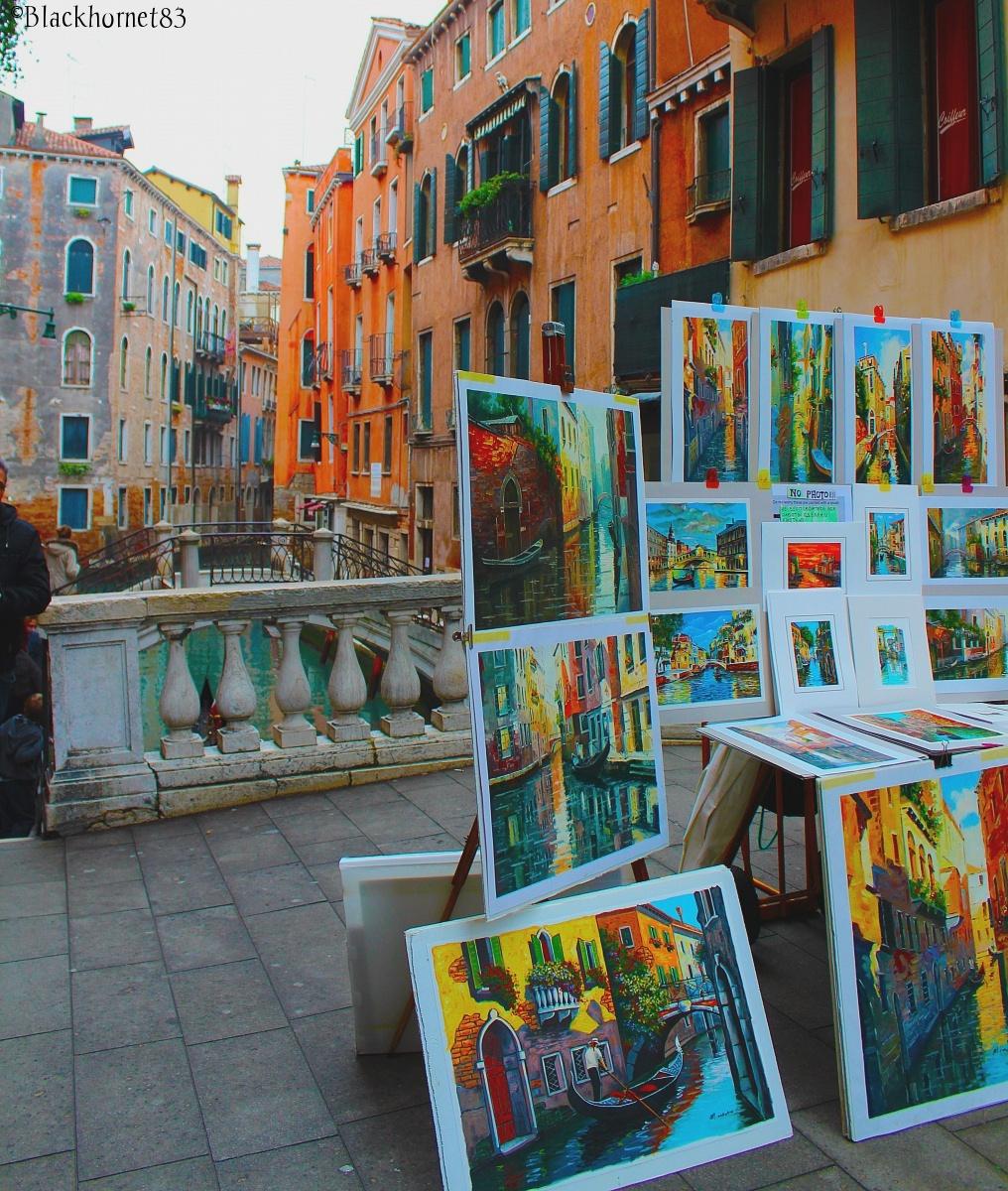 Art in Venice...