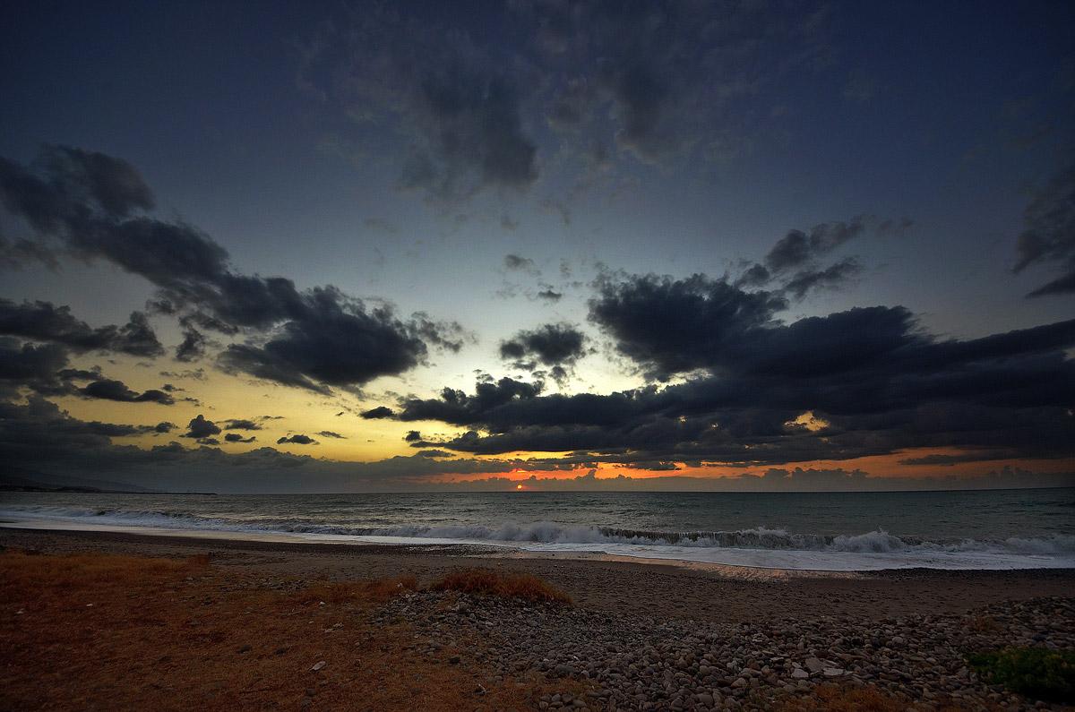 Sunset - sant'Agata di Militello (Me)...