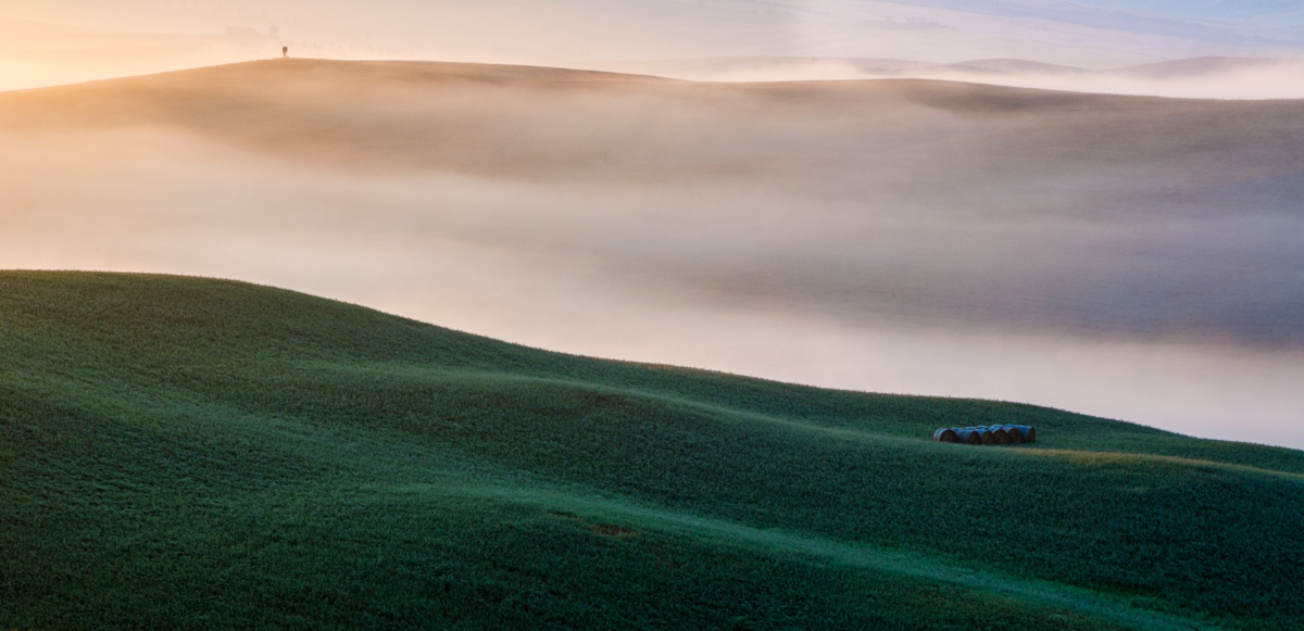 colors of the Val d'Orcia...