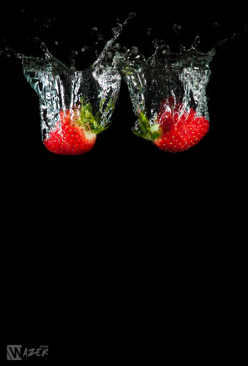 Strawberries dives...