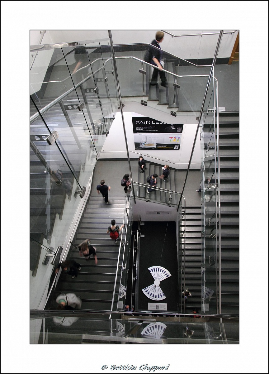 Museum stairs...
