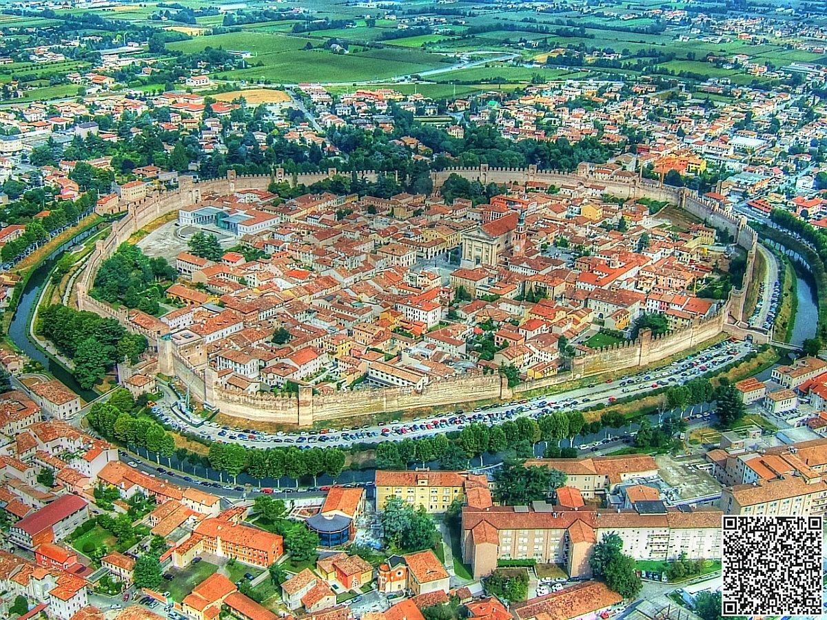 Citadel aerial view...