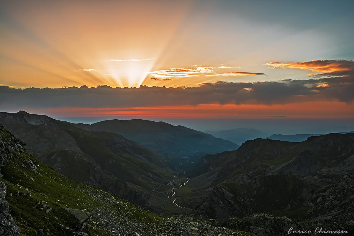 Po Valley, the dawn...