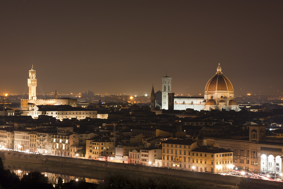 Florence by night...
