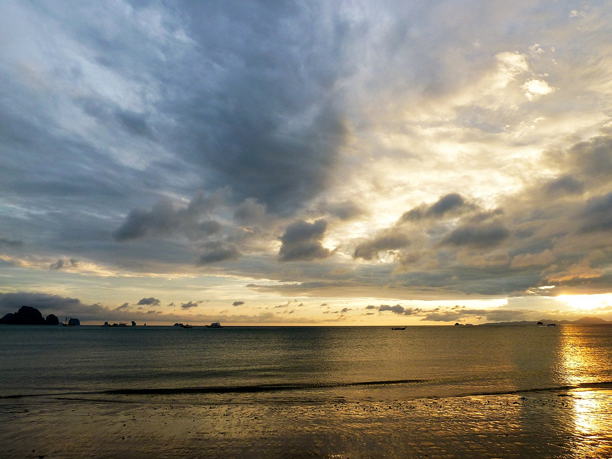 Sunset at Krabi...