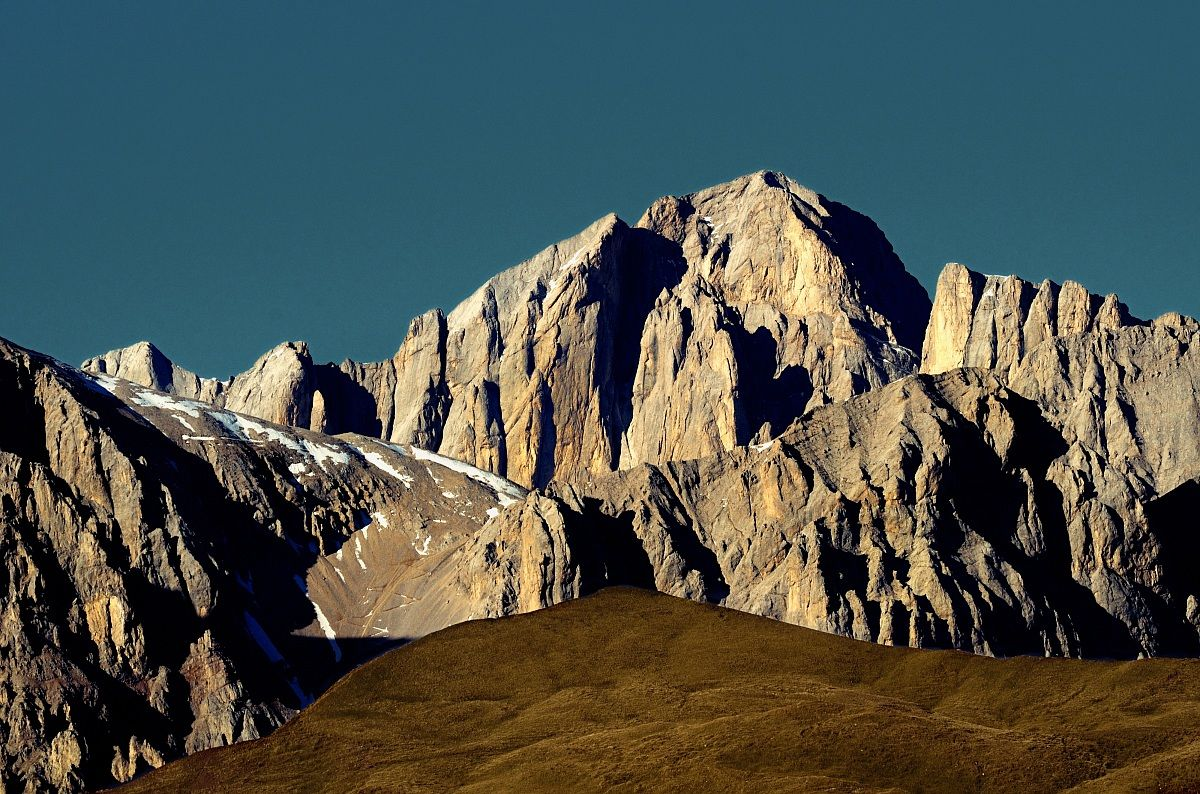 The south of Marmolada...