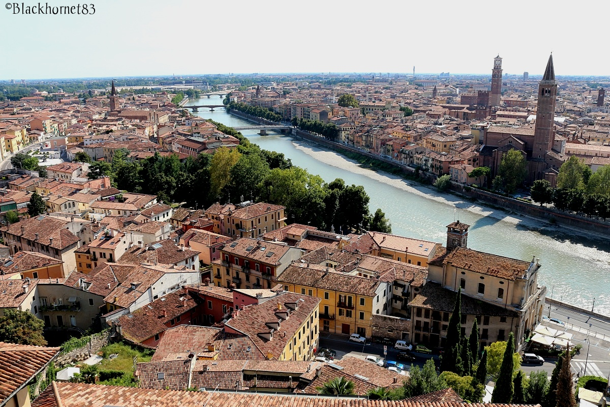 Verona from above...