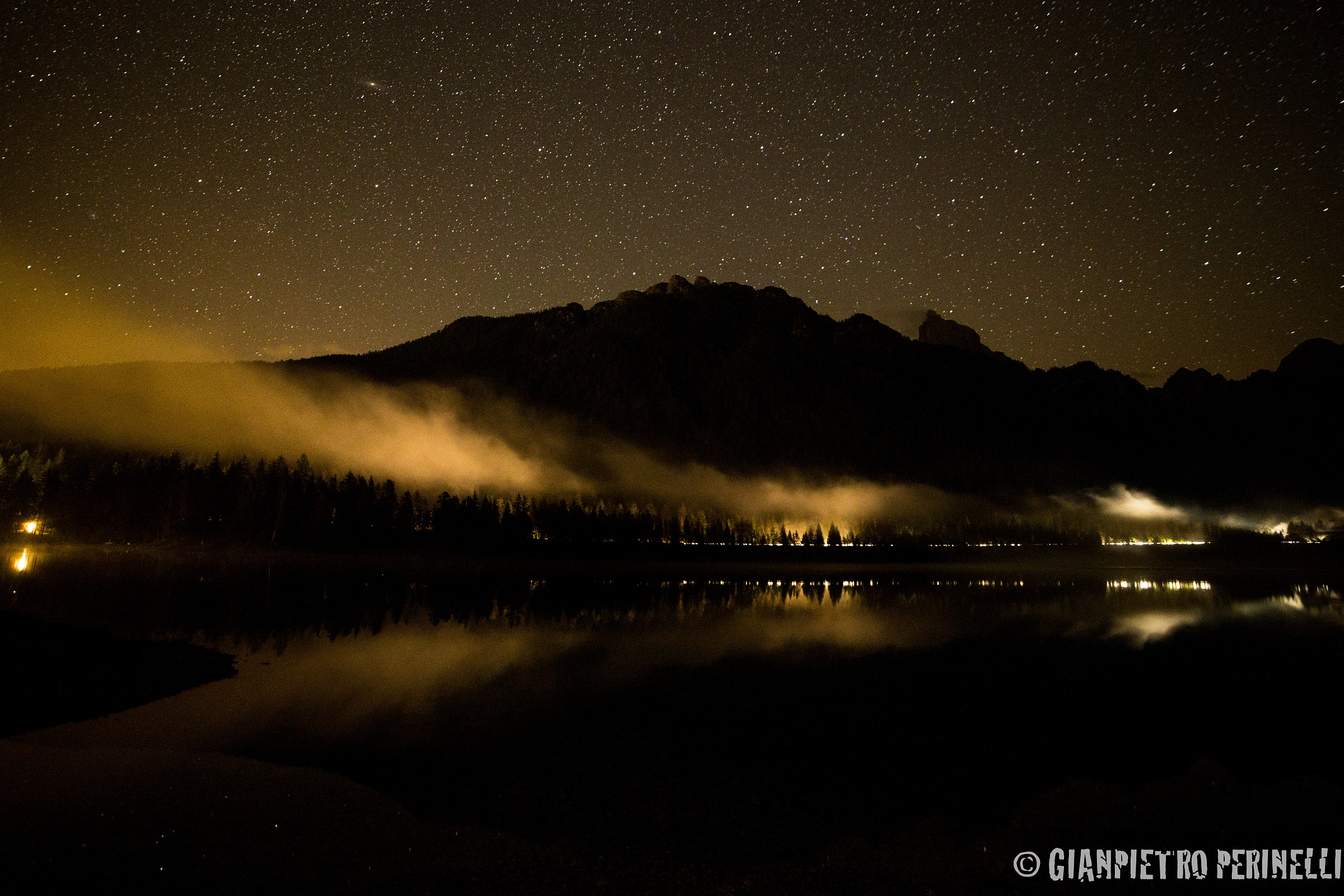Toblach See BY Night...