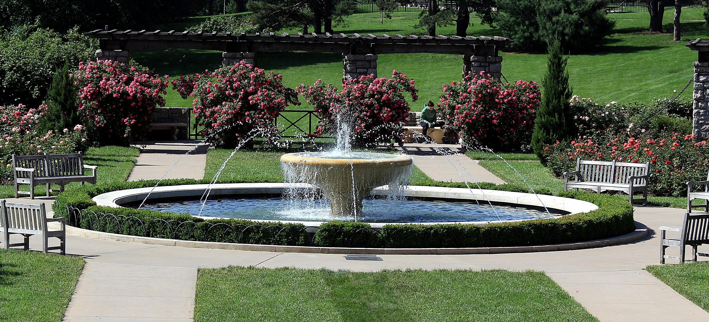 Rose Garden, Kansas City, MO...