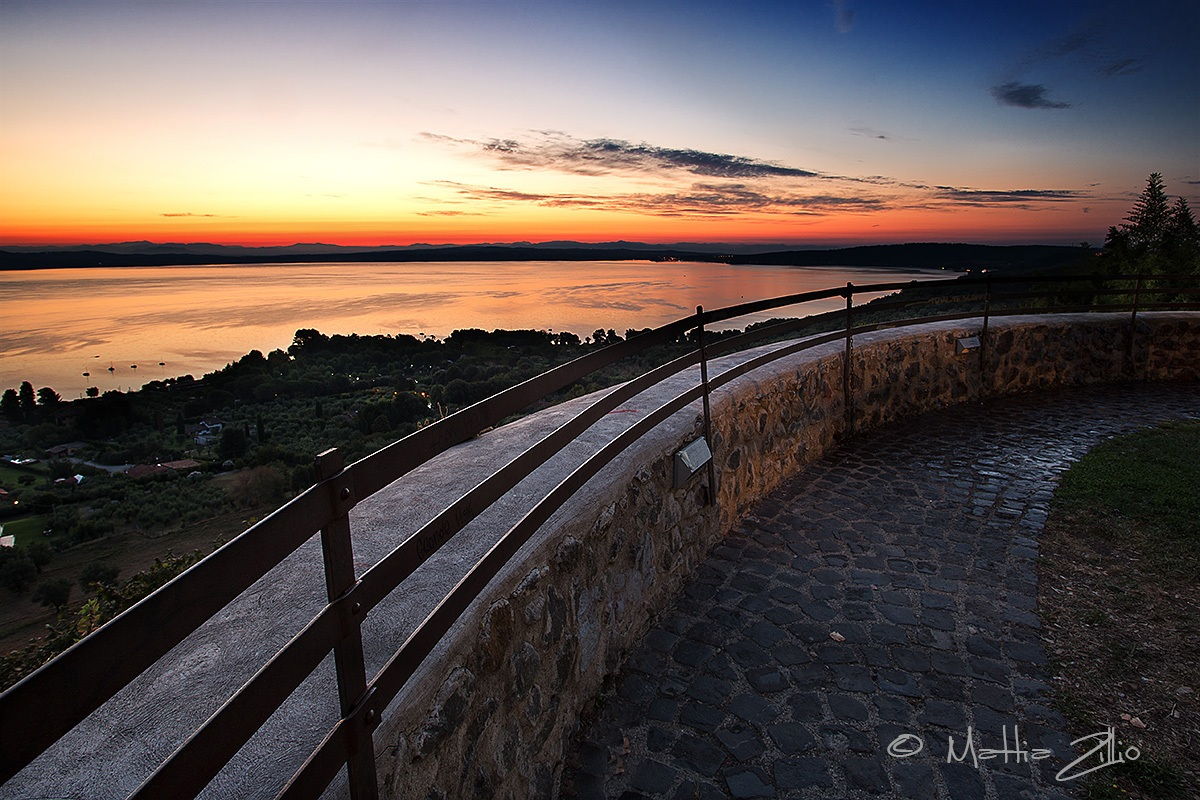 Lake Bracciano...