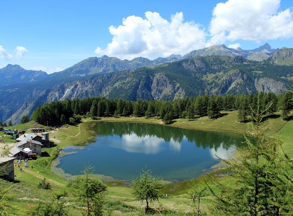 Il lago di Lod-Chamois...