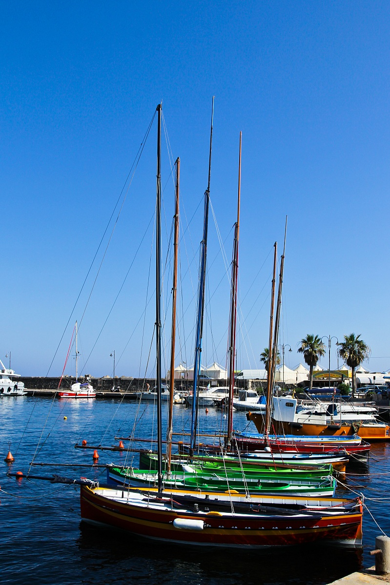 Boats - Port of Pantelleria...