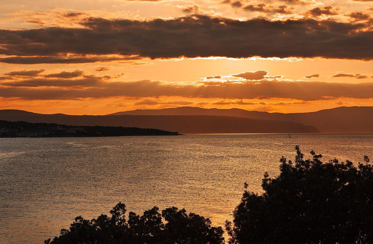 Sunset in Malinska...