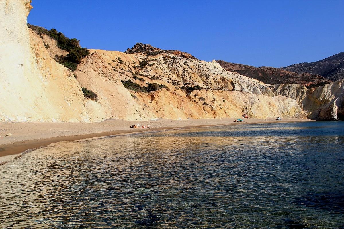 Milos, le spiagge a ovest...