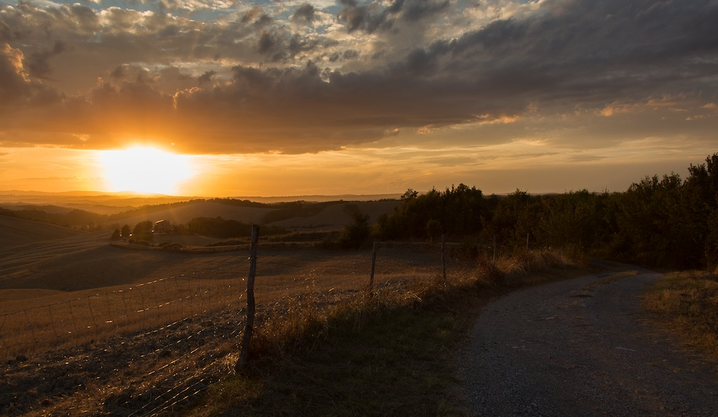 The road to the sun...