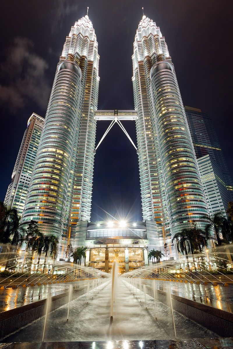 Petronas Twin Towers...
