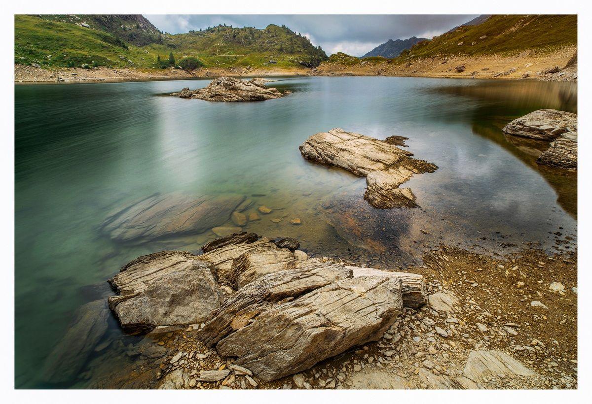 the Alpine lakes...