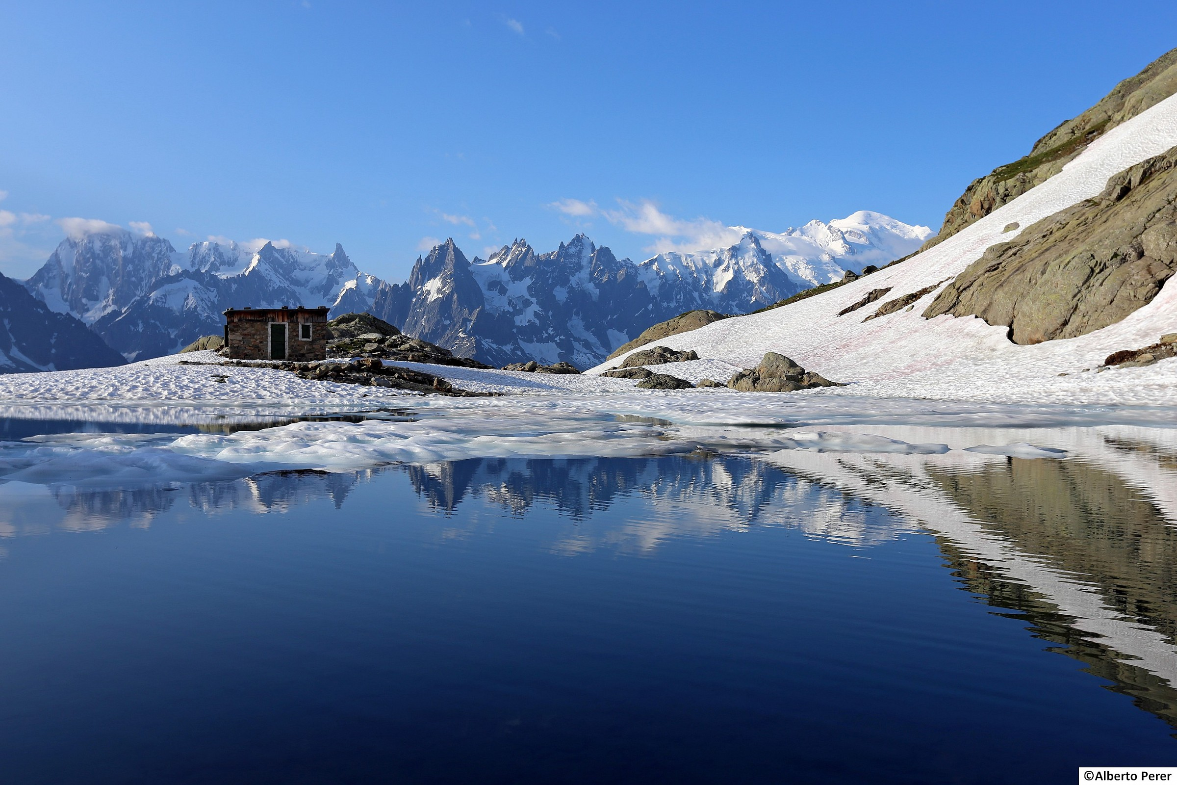Lac Blanc...
