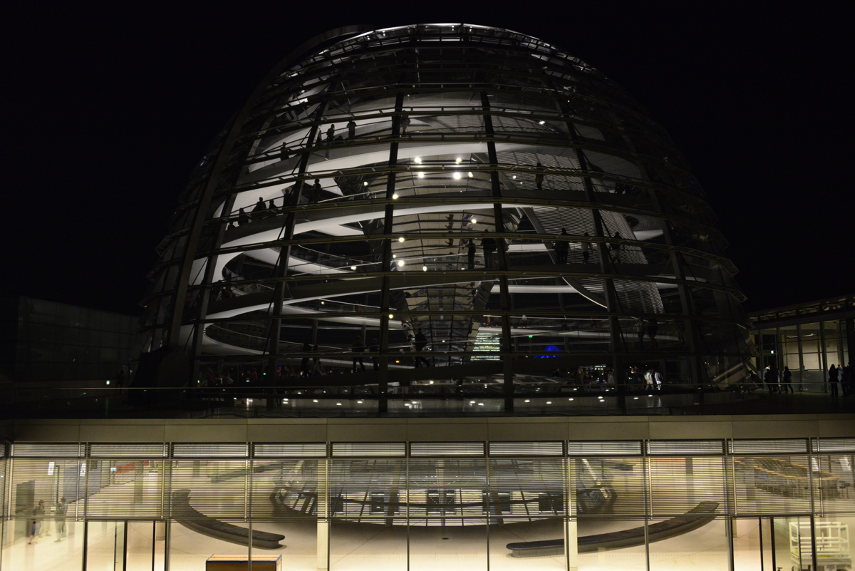 Reichstag dome...