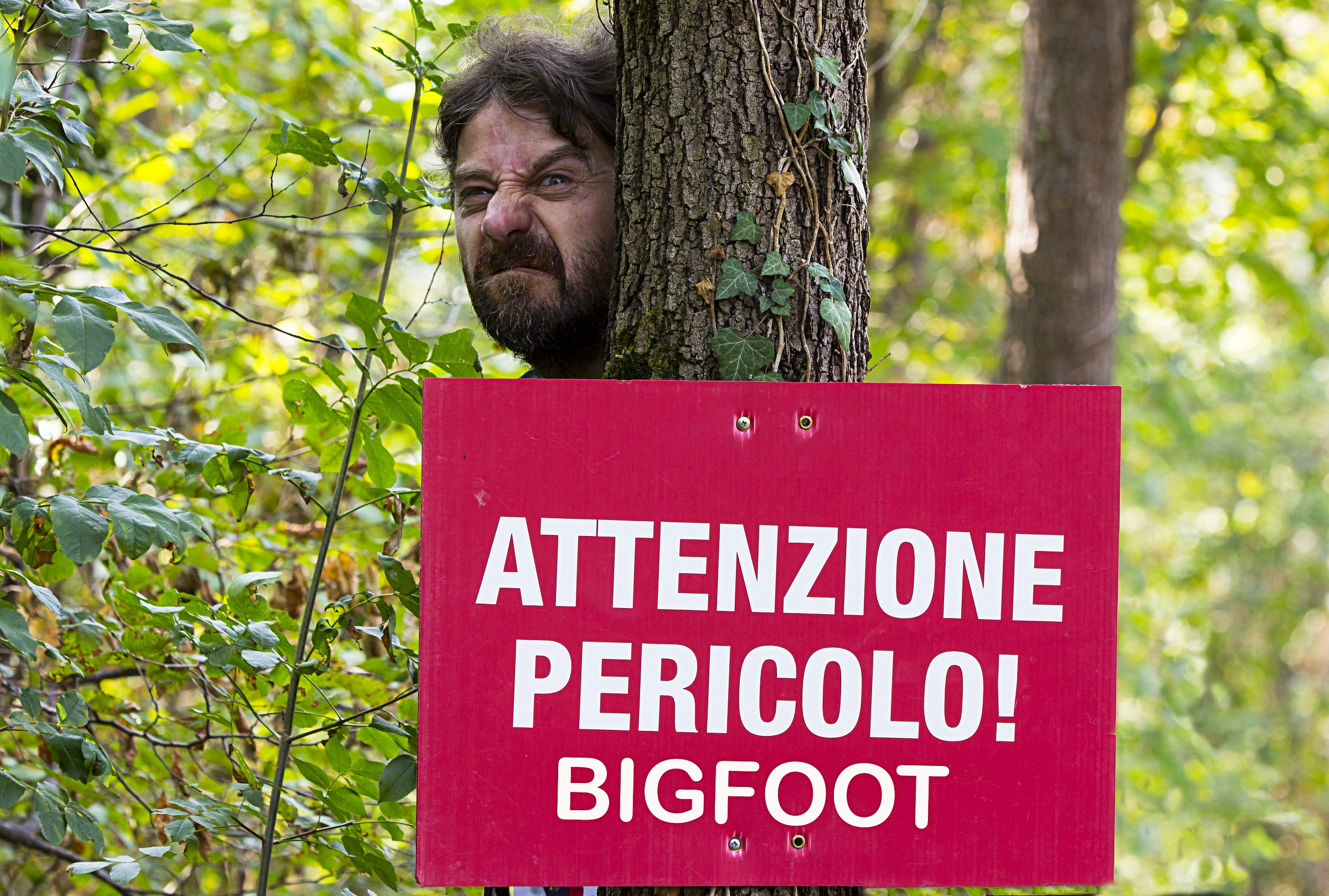 -Bigfoot and the resounding 'arrived in Italy...