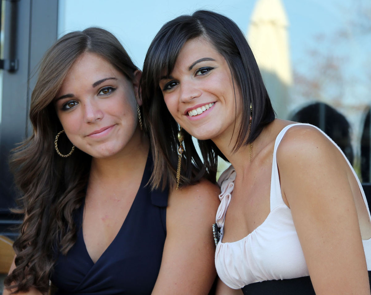 Sabrina and Carolina...