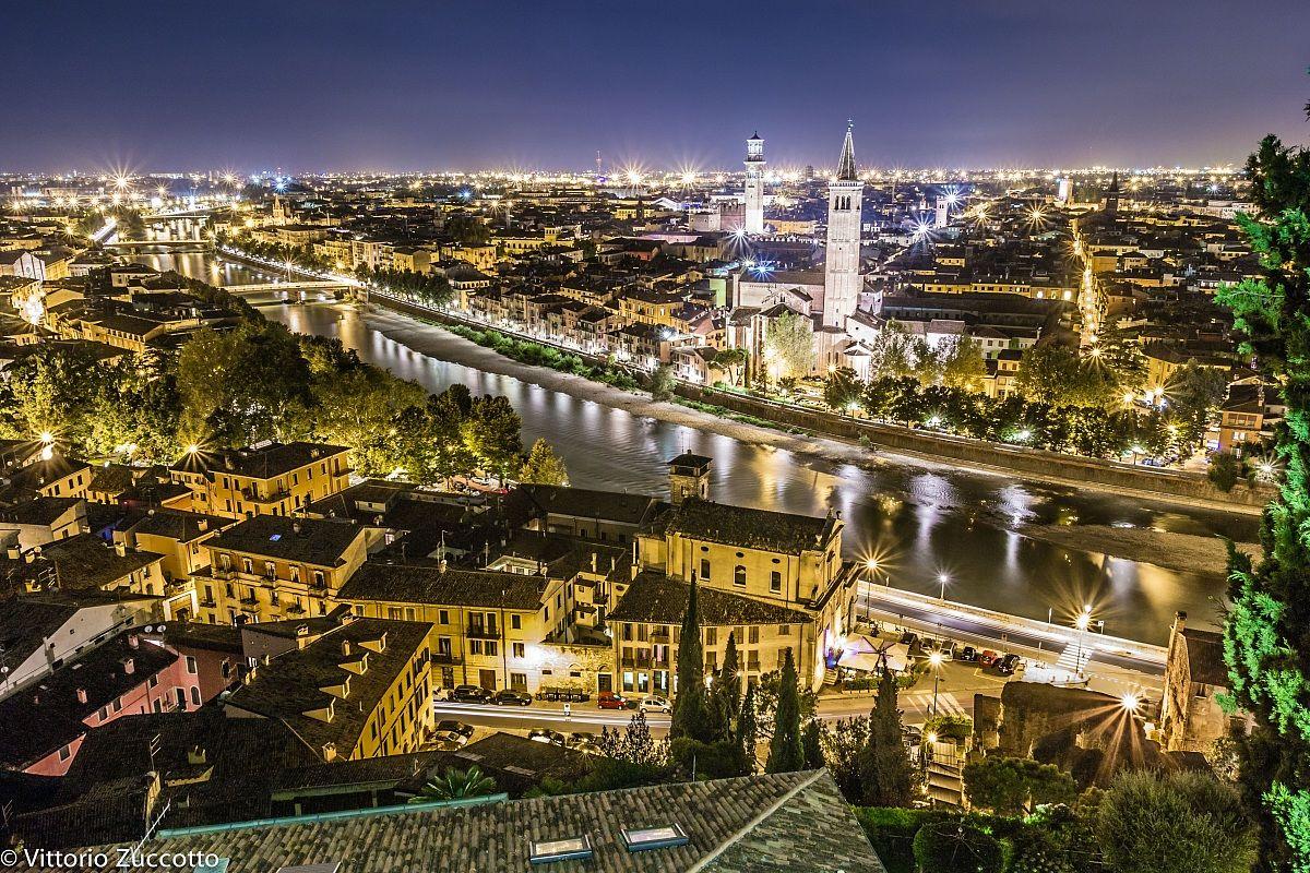 Night View of Verona...