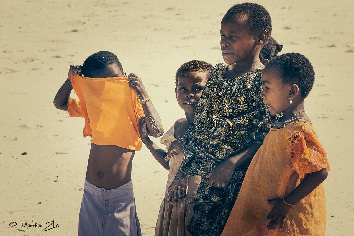Children in Zanzibar...