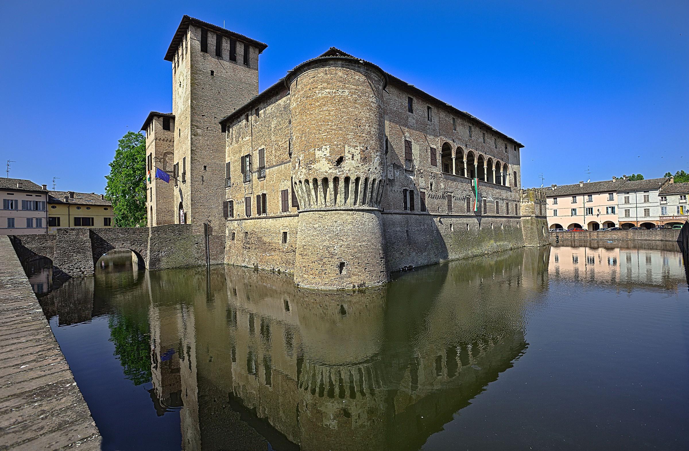Fortress of Fontanellato...