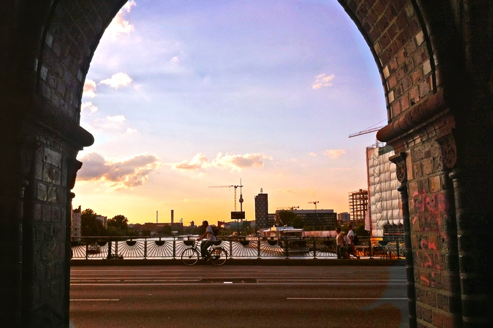 Sunset on the River Spree...