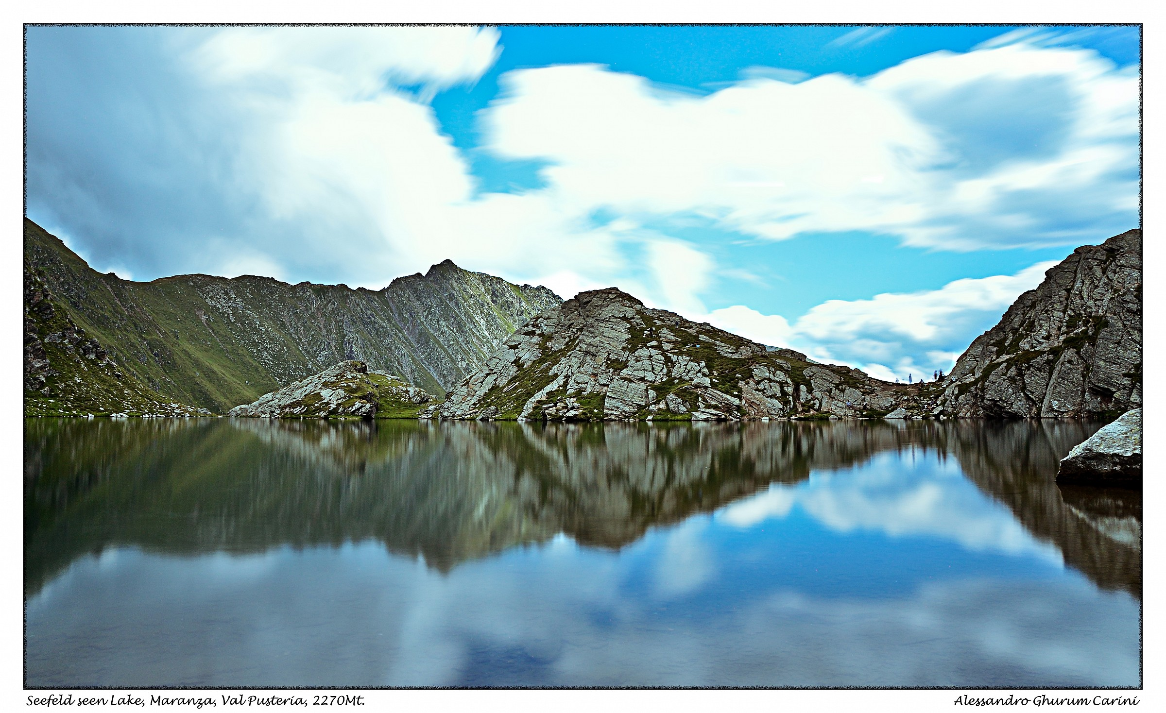 Seefeld Seen, Maranza, Val Pusteria, 2270Mt....