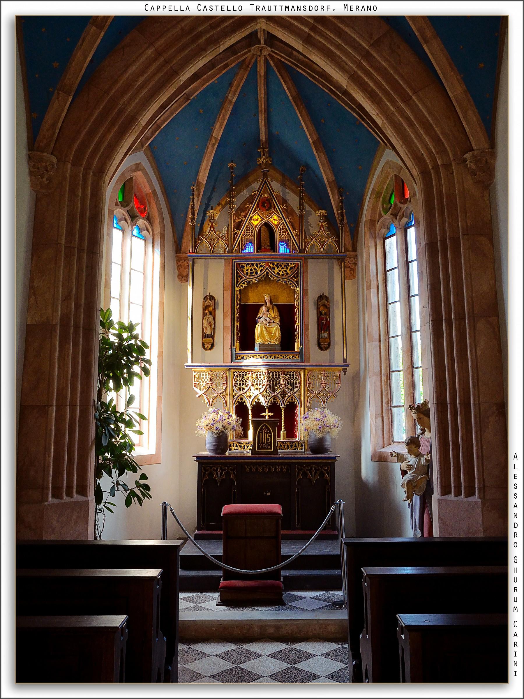 Light the altar...