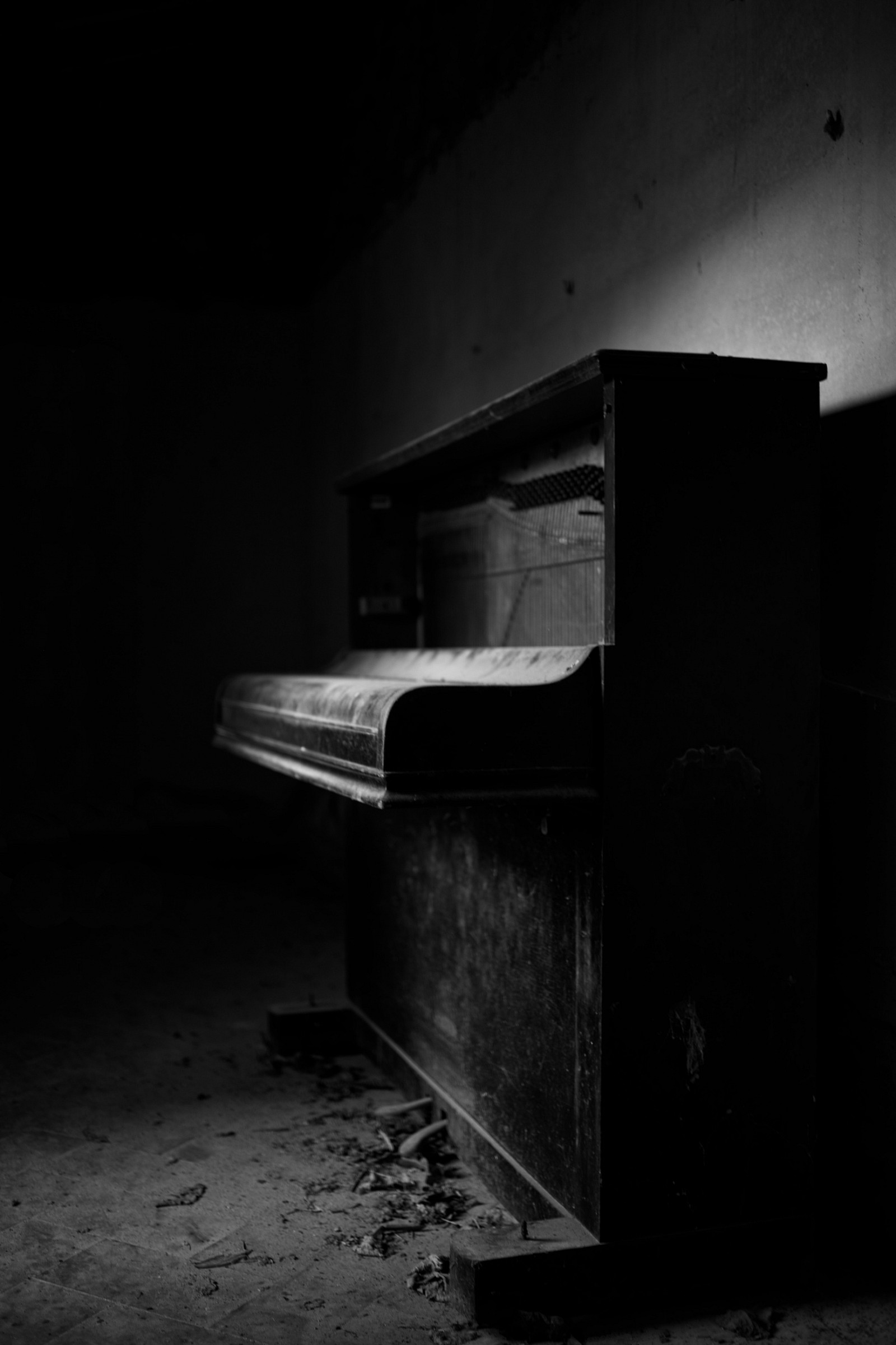 the old piano...