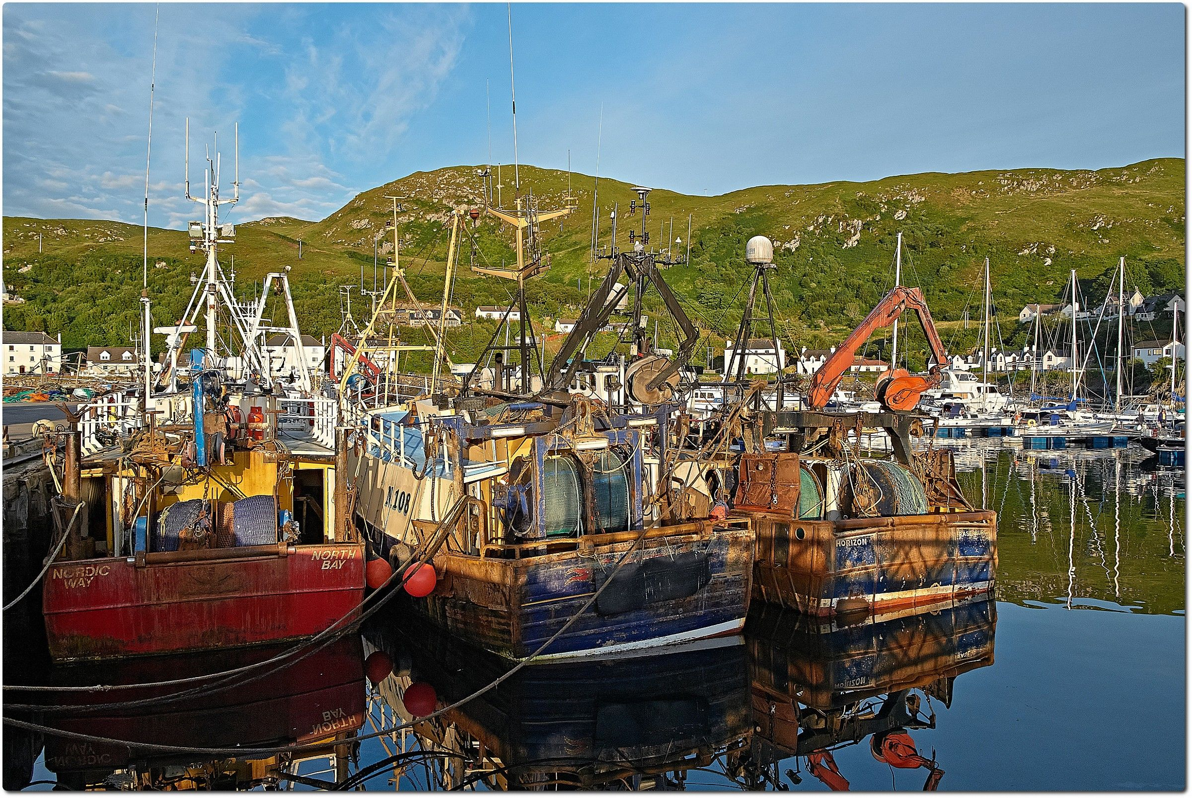 Scotland - Fishing Boats at Mallaig...