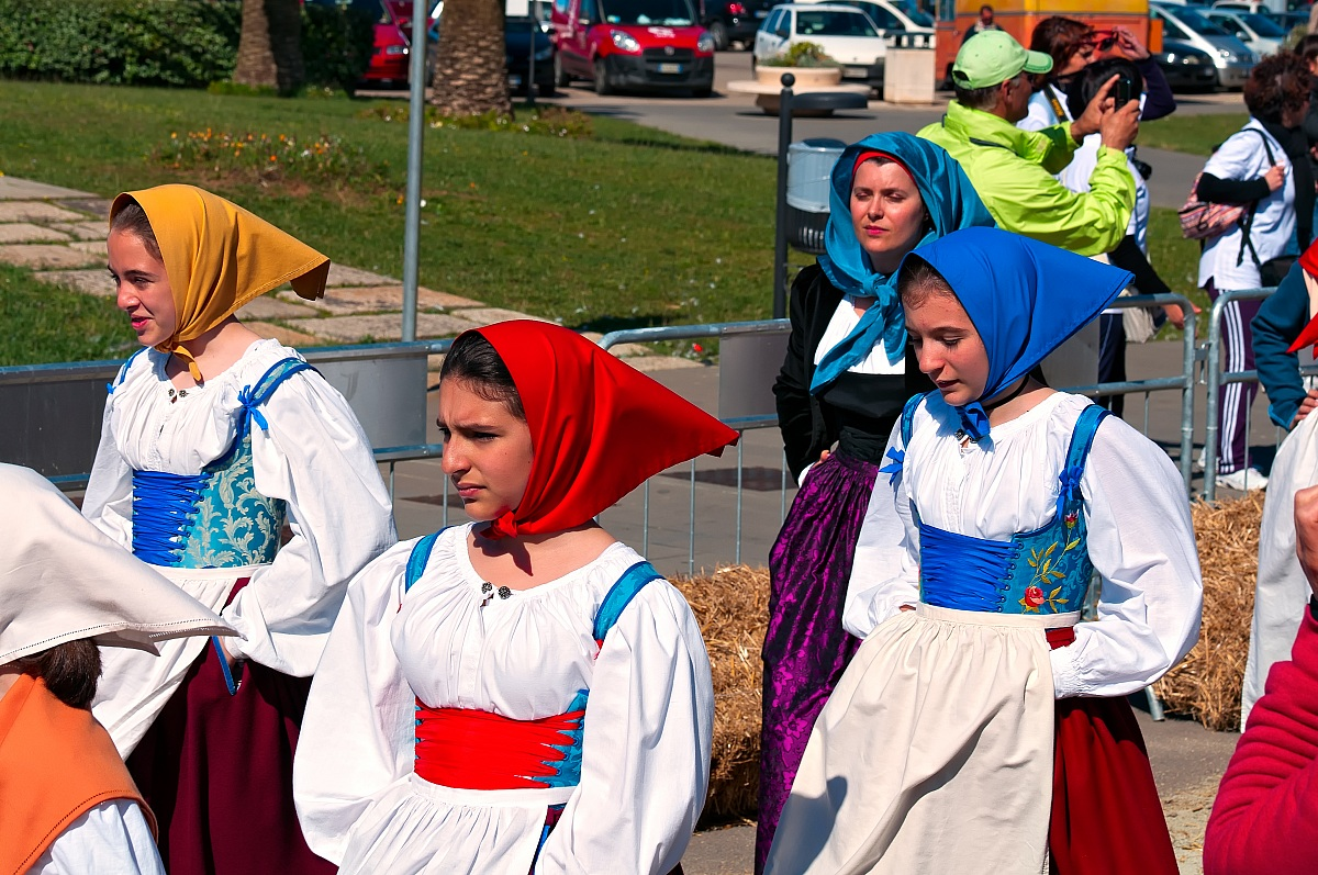 Sardinian costumes...